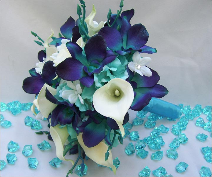 wedding bouquets with calla lilies photo - 1