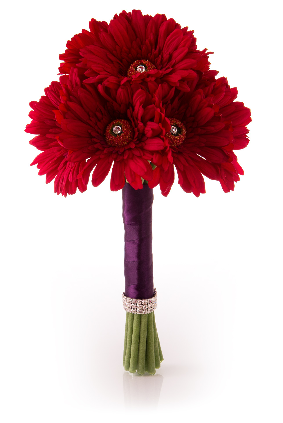 wedding bouquets with gerbera daisies photo - 1