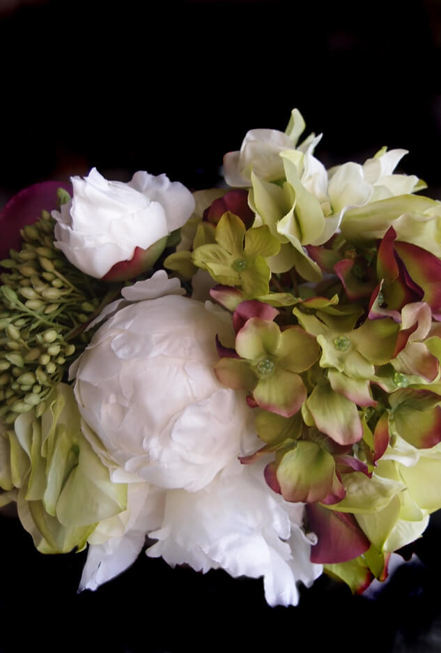 wedding bouquets with hydrangeas photo - 1