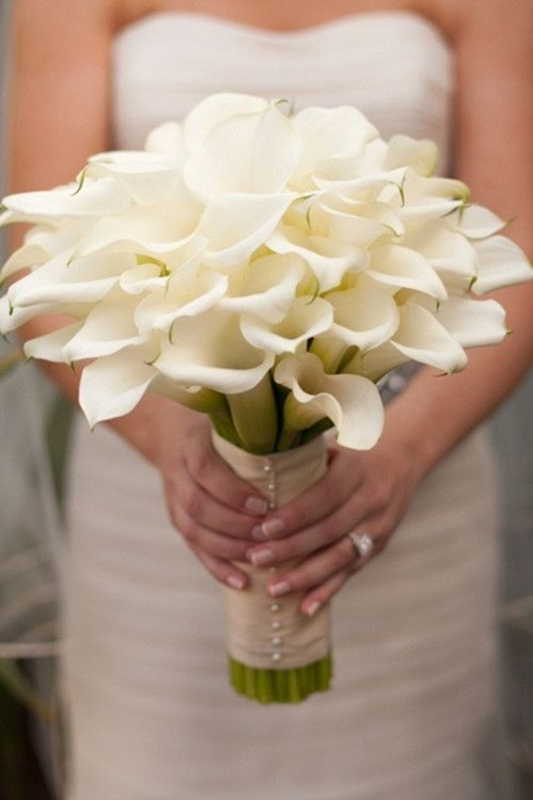wedding bouquets with lilies photo - 1