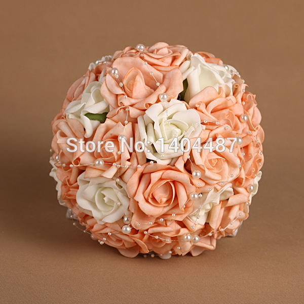 wedding bouquets with pearls photo - 1