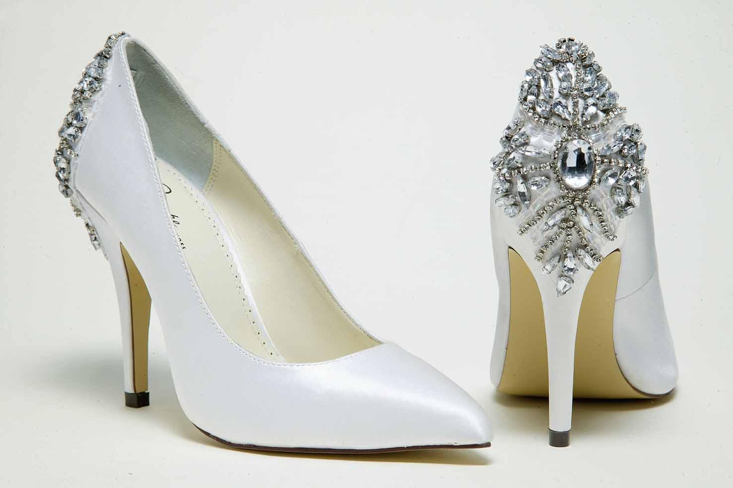 wedding bridal shoes photo - 1