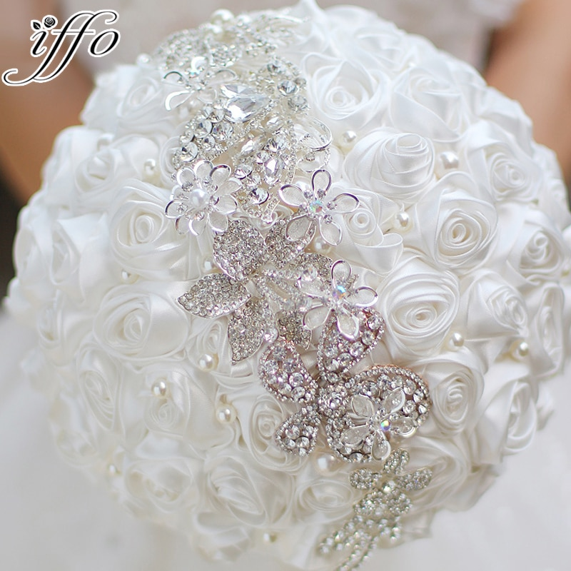 wedding brooches bouquets photo - 1