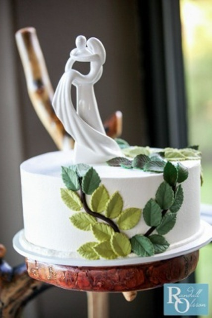 wedding cake flowers toppers photo - 1