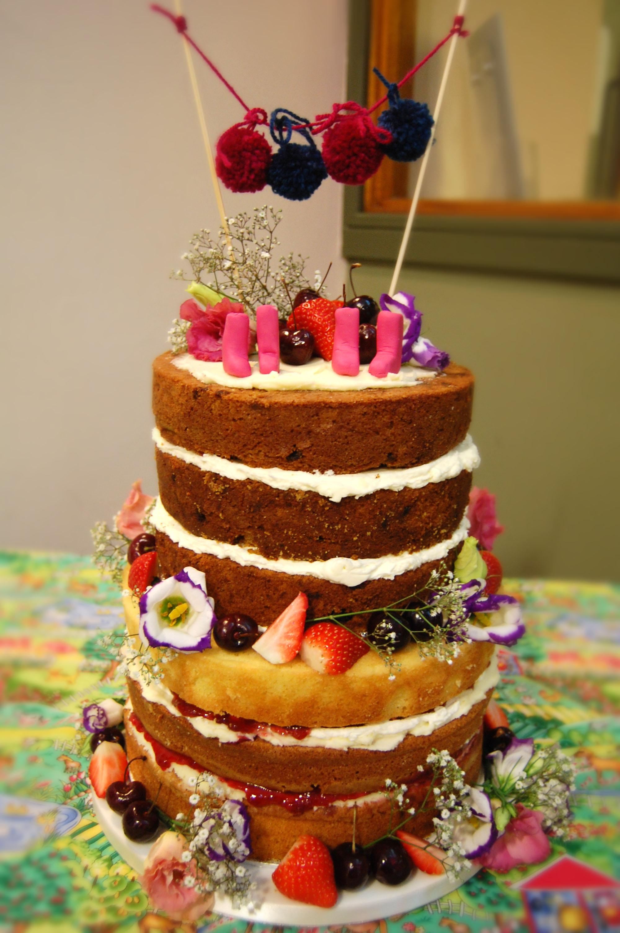 wedding cakes flowers photo - 1