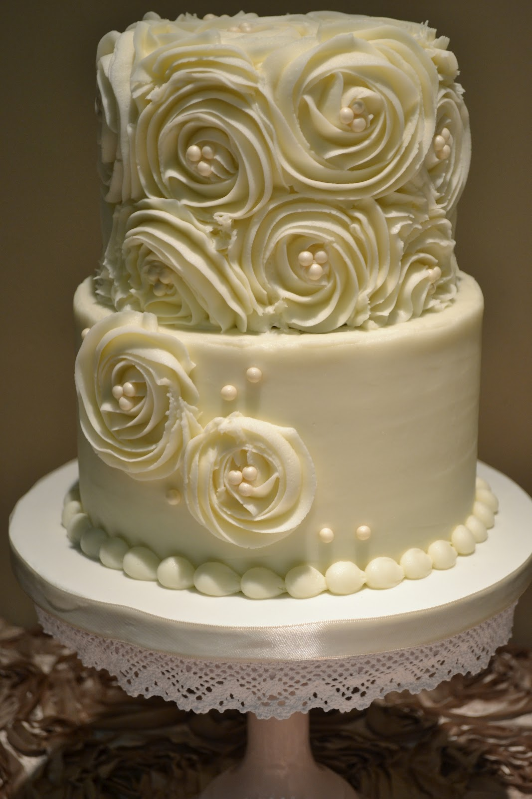wedding cakes with fresh flowers tips photo - 1