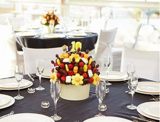 wedding centerpieces without flowers photo - 1