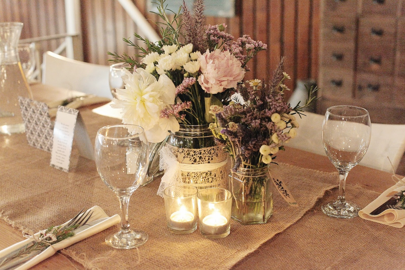 wedding decor flowers photo - 1