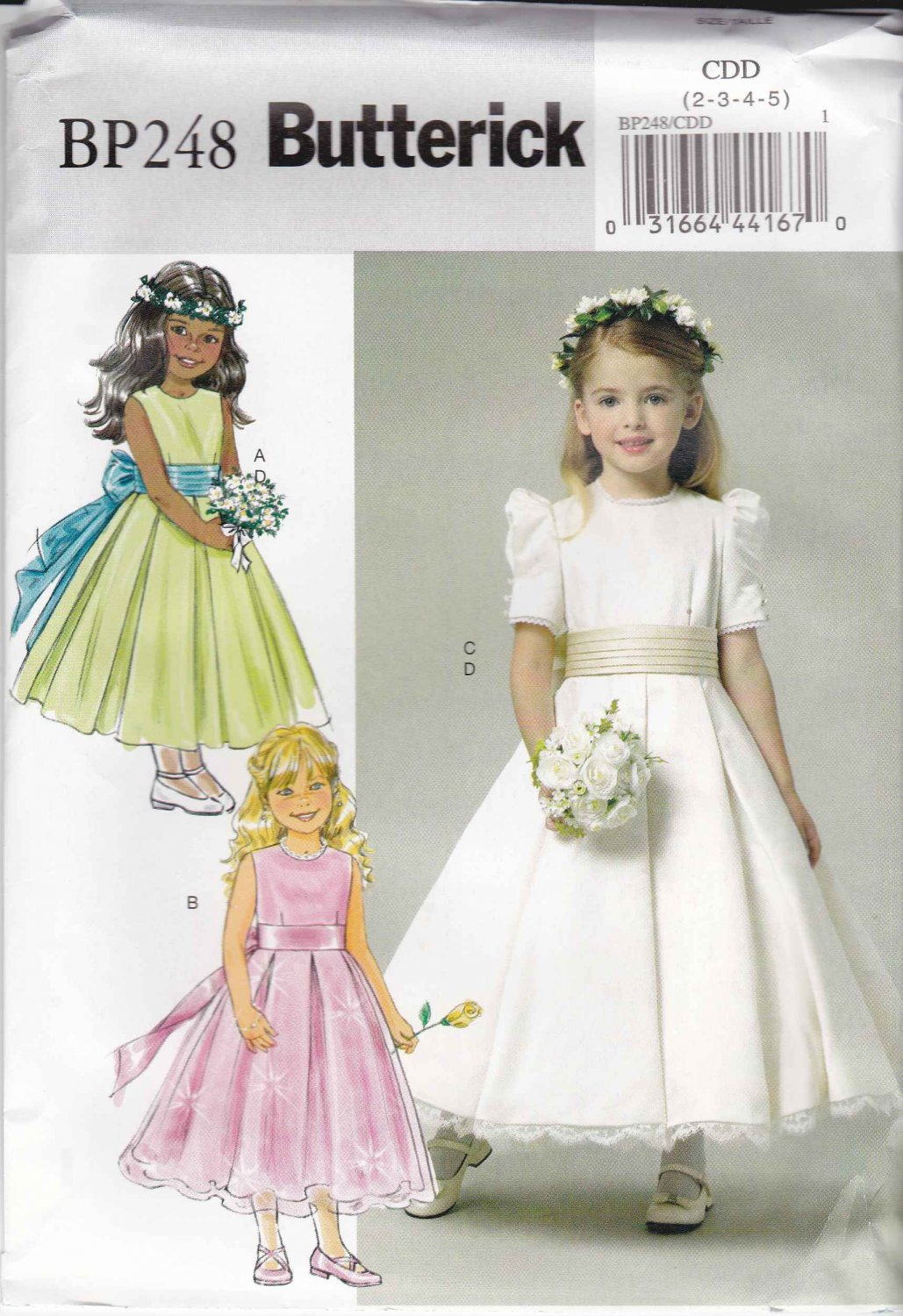 wedding dress for flower girls photo - 1