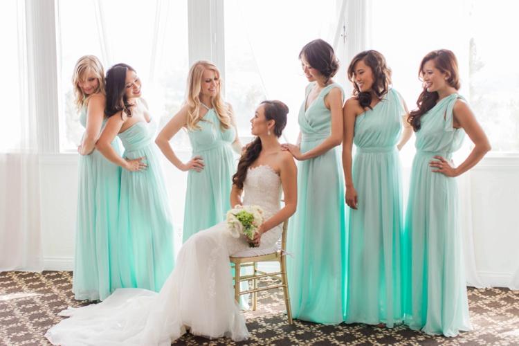 wedding dress with flower photo - 1
