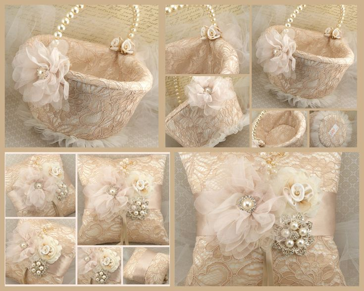 wedding flower basket photo - 1