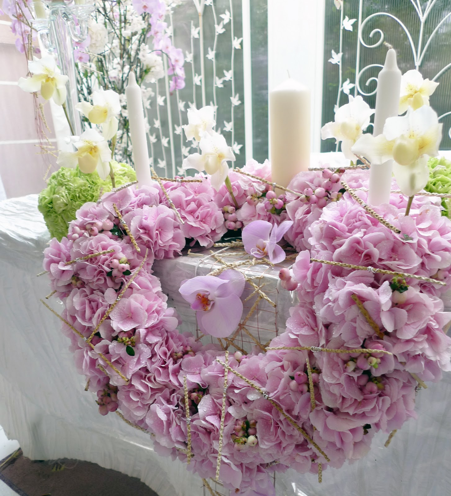 wedding flowers decoration photo - 1