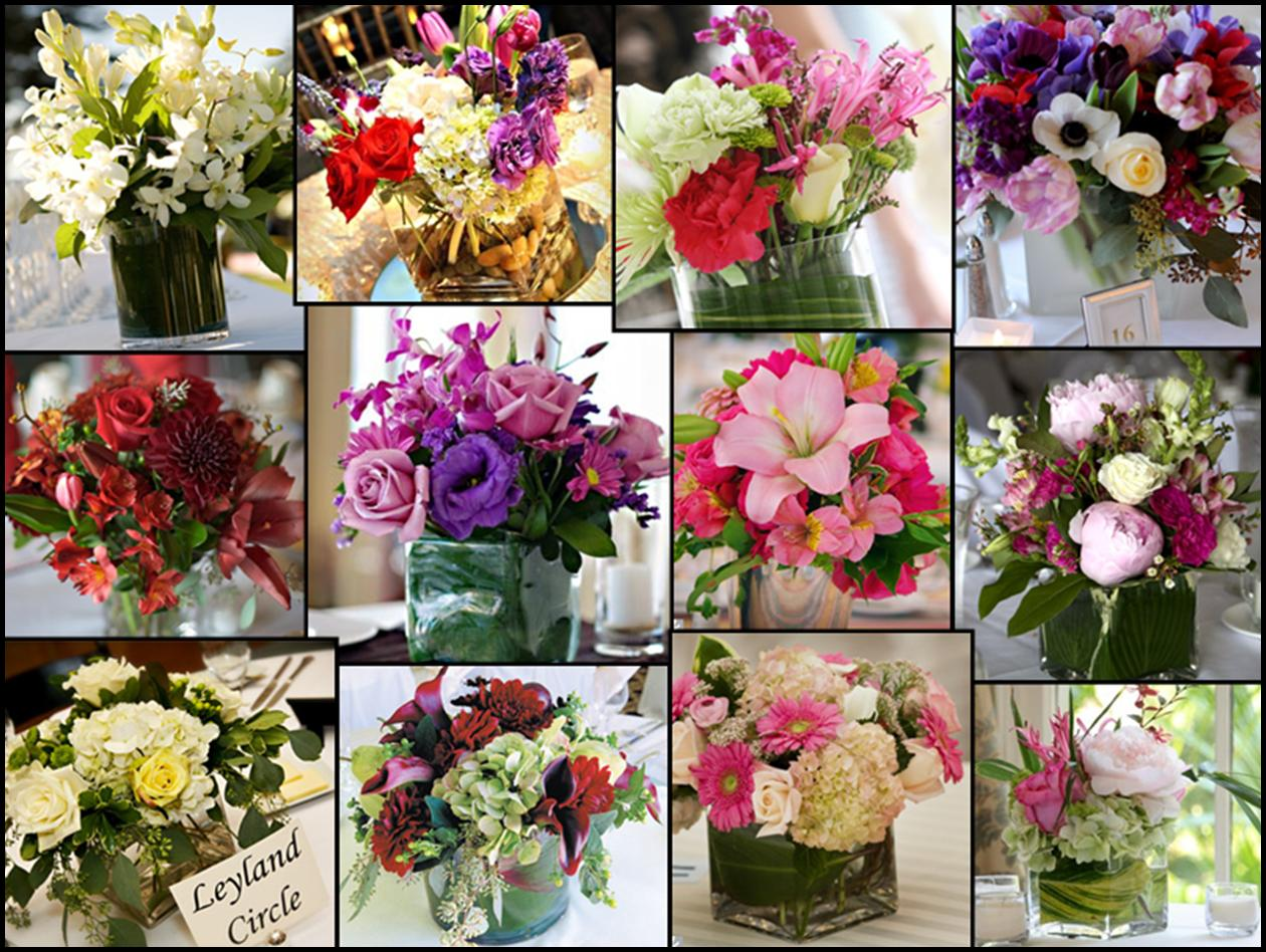wedding flowers table decorations photo - 1