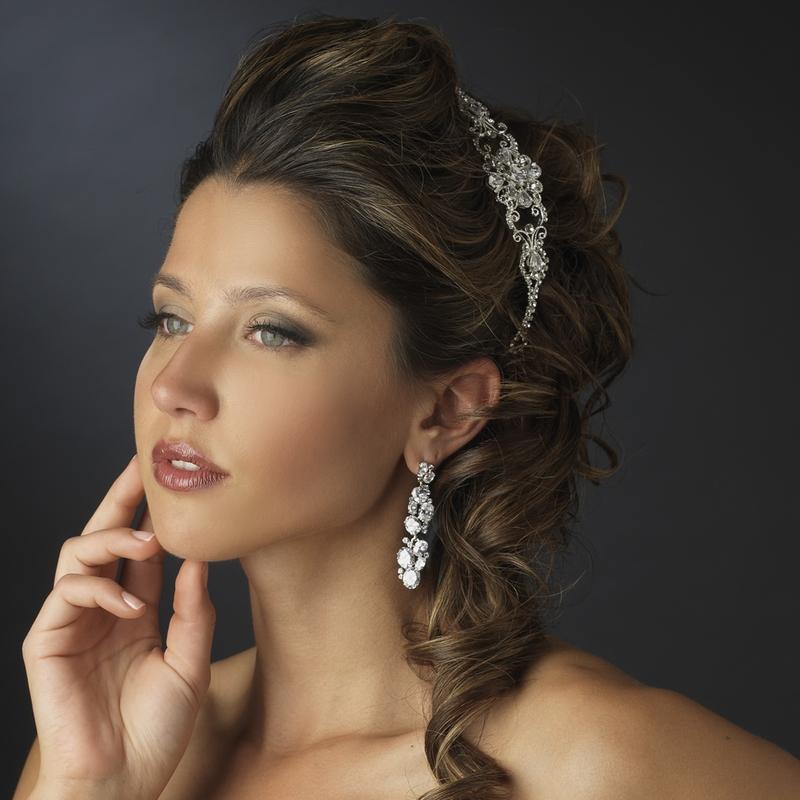 wedding hair accessories flowers photo - 1