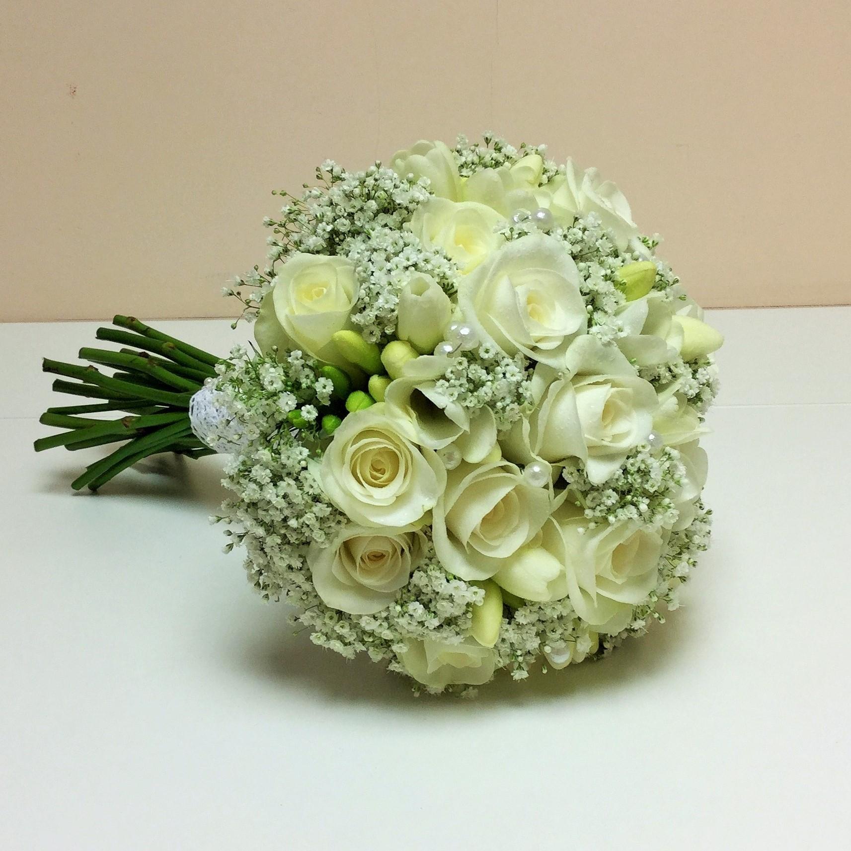wedding hand bouquets photo - 1