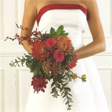 wedding invitation flowers photo - 1