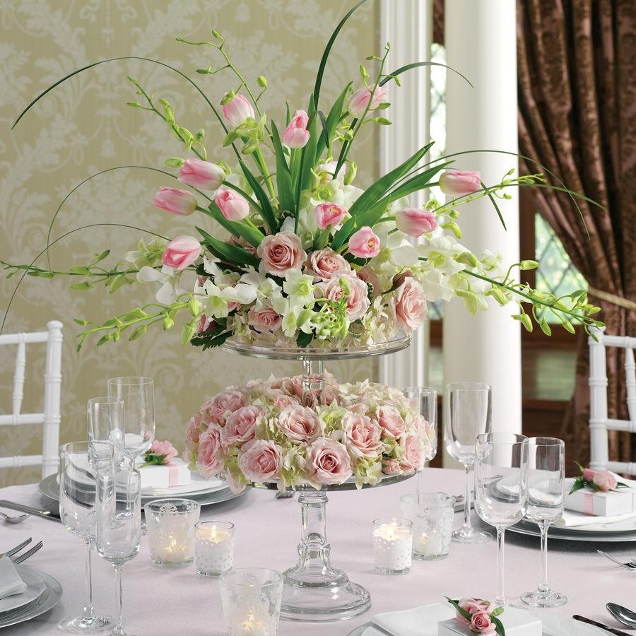 wedding reception flower photo - 1