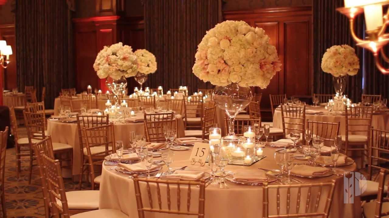 wedding recption flowers photo - 1