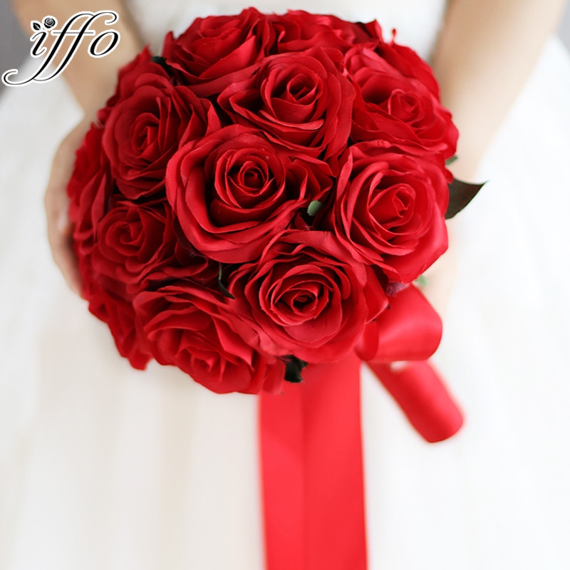 wedding rose bouquets photo - 1