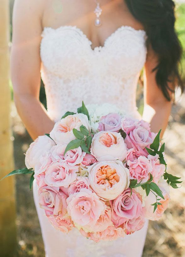 wedding roses bouquets photo - 1