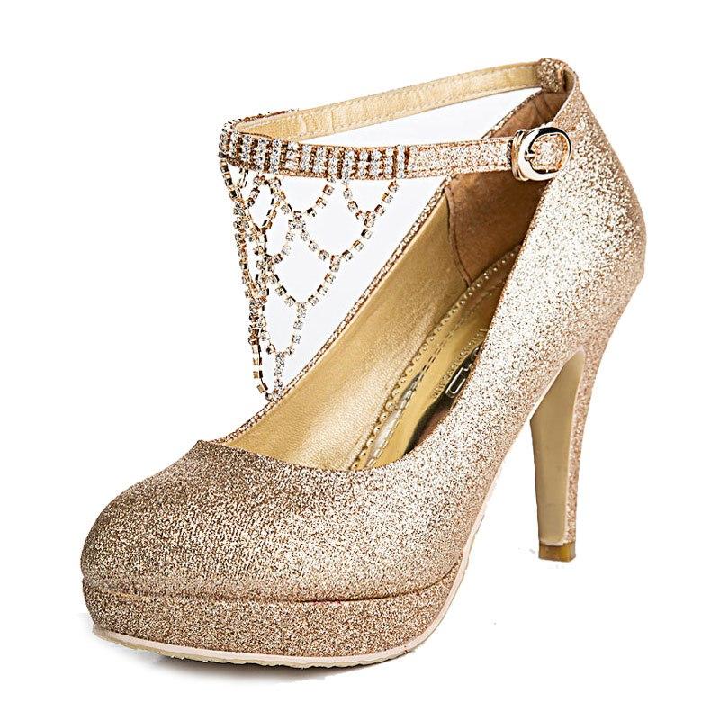 wedding shoes 2 inch heels photo - 1
