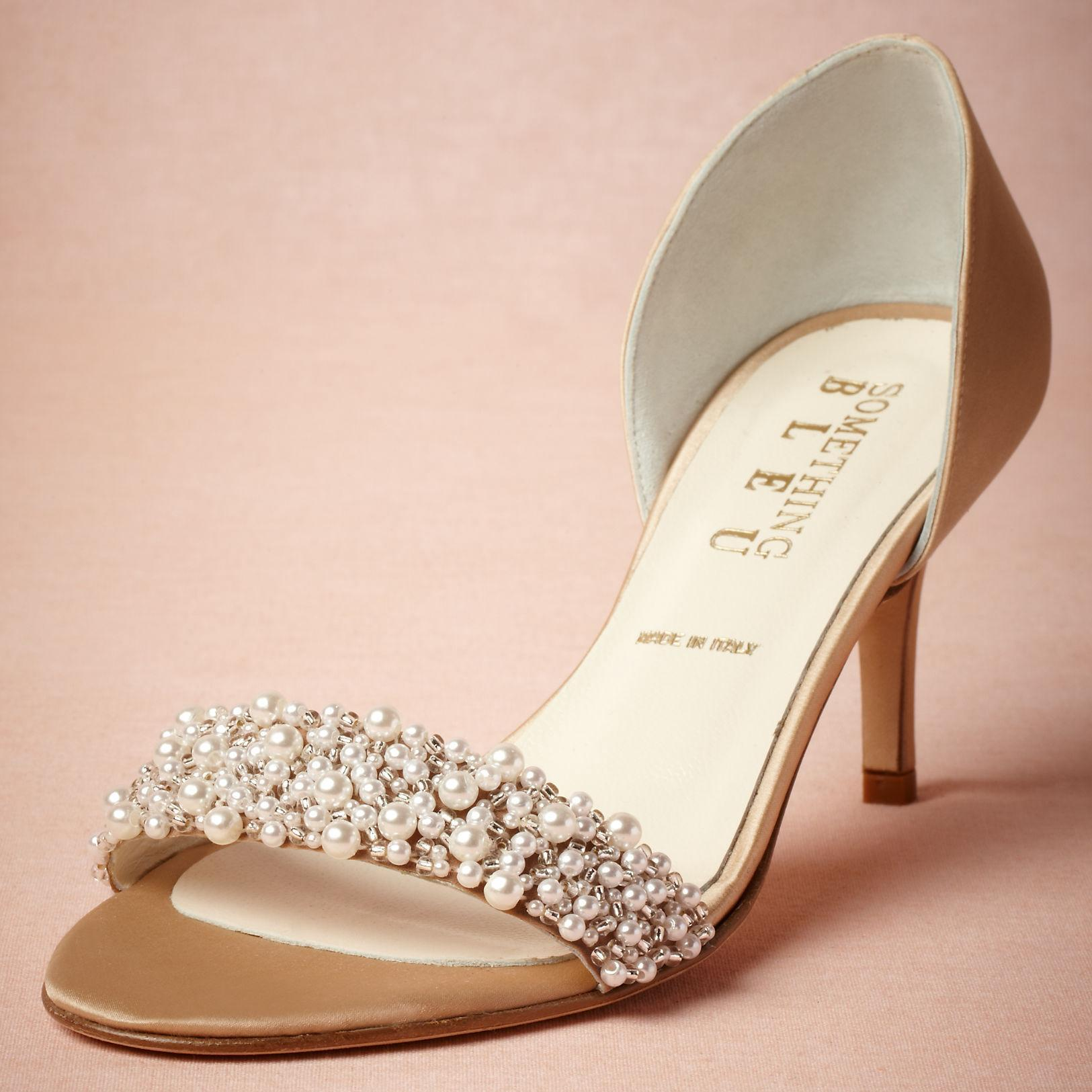 wedding shoes 2.5 inch heel photo - 1