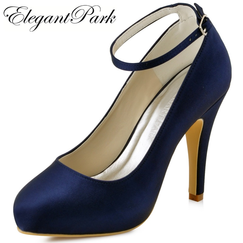 wedding shoes ankle strap photo - 1