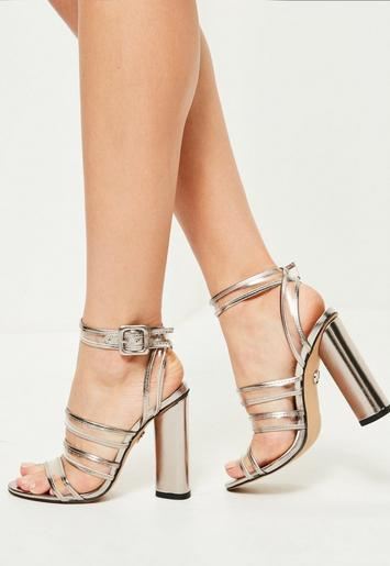 wedding shoes block heel photo - 1
