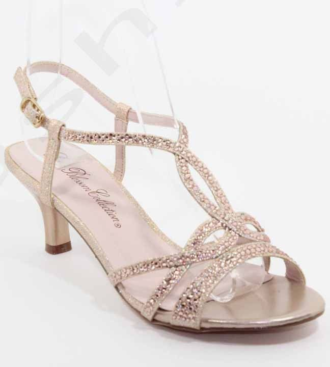 wedding shoes champagne photo - 1