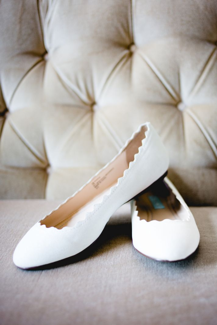 wedding shoes flats for bride photo - 1