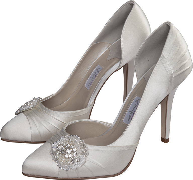 wedding shoes for bride comfortable photo - 1