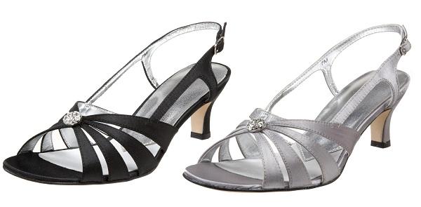 Wedding shoes low heel wide width