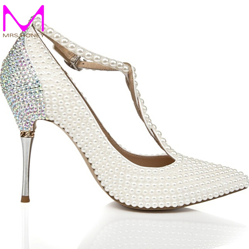 wedding shoes rhinestones photo - 1