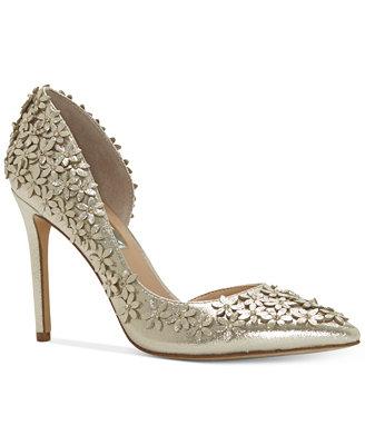 wedding shoes wedges macys photo - 1