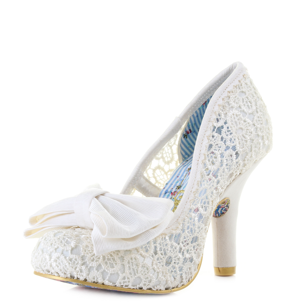wedding shoes with bows photo - 1