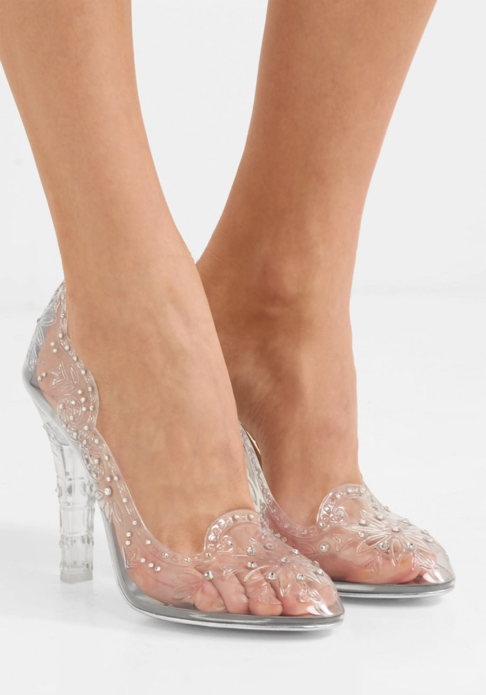 wedding shoes with crystals photo - 1