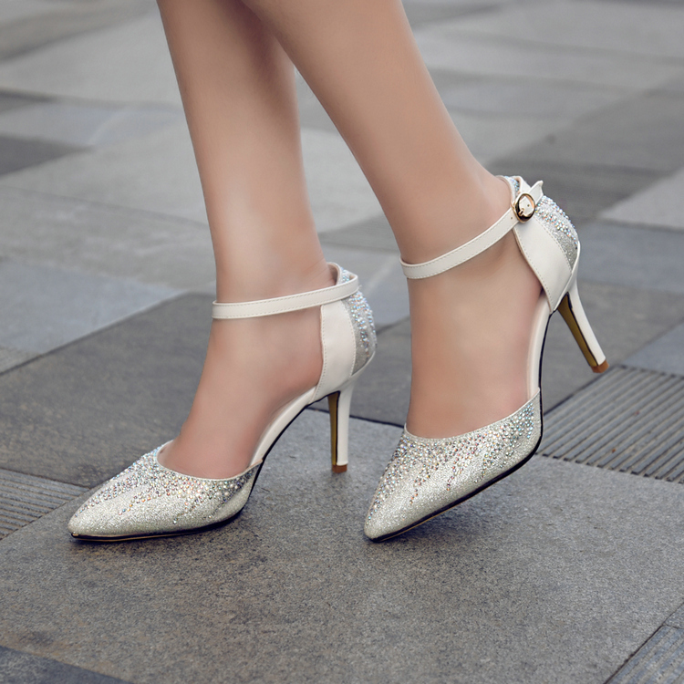 wedding shoes with straps photo - 1