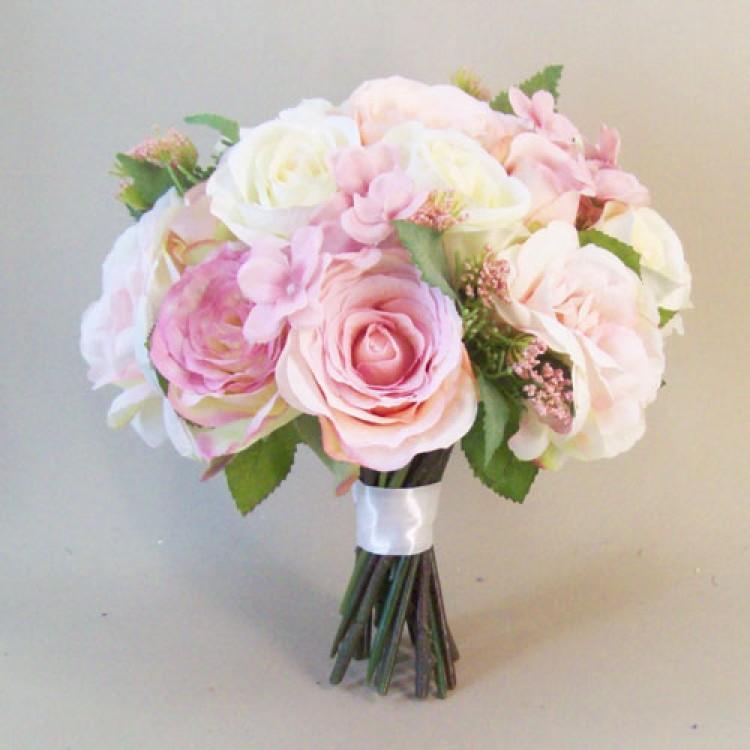 wedding silk flowers bouquets photo - 1