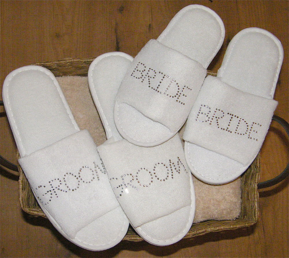 wedding slipper shoes photo - 1