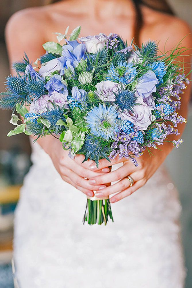 wedding wildflower bouquets photo - 1