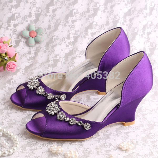 wedge dress shoes wedding photo - 1
