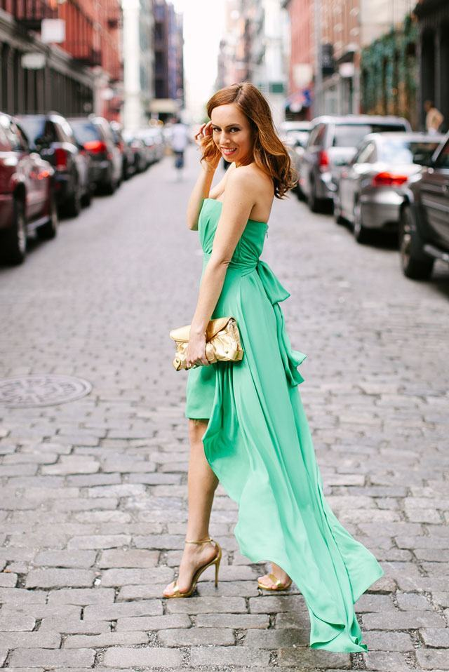what color shoes to wear with black dress to wedding photo - 1