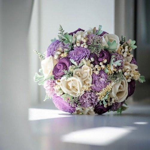when to order flowers for wedding photo - 1
