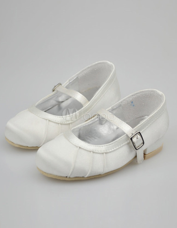 white ballet shoes for wedding photo - 1