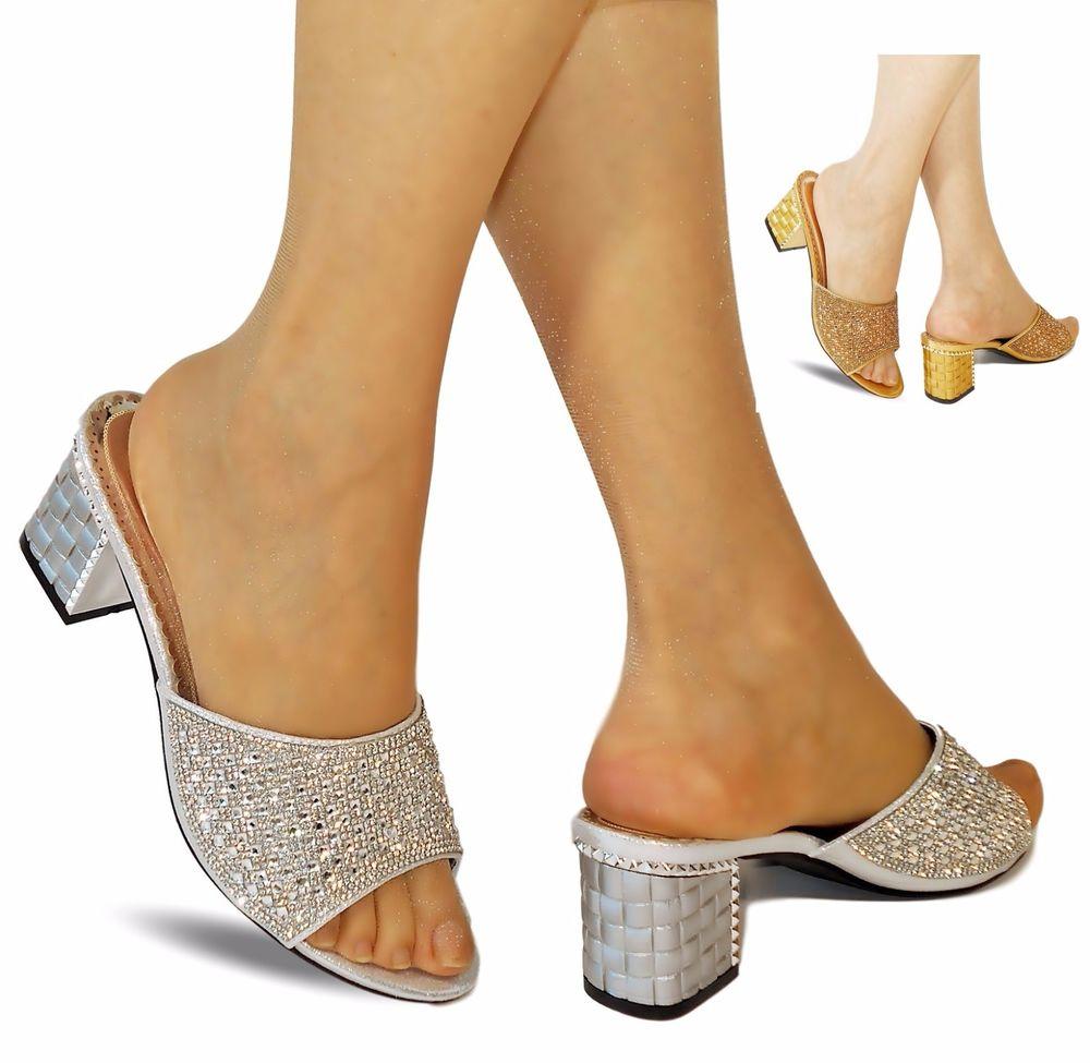 white bridal shoes low heel photo - 1