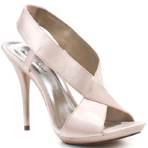 white wedding shoes cheap photo - 1