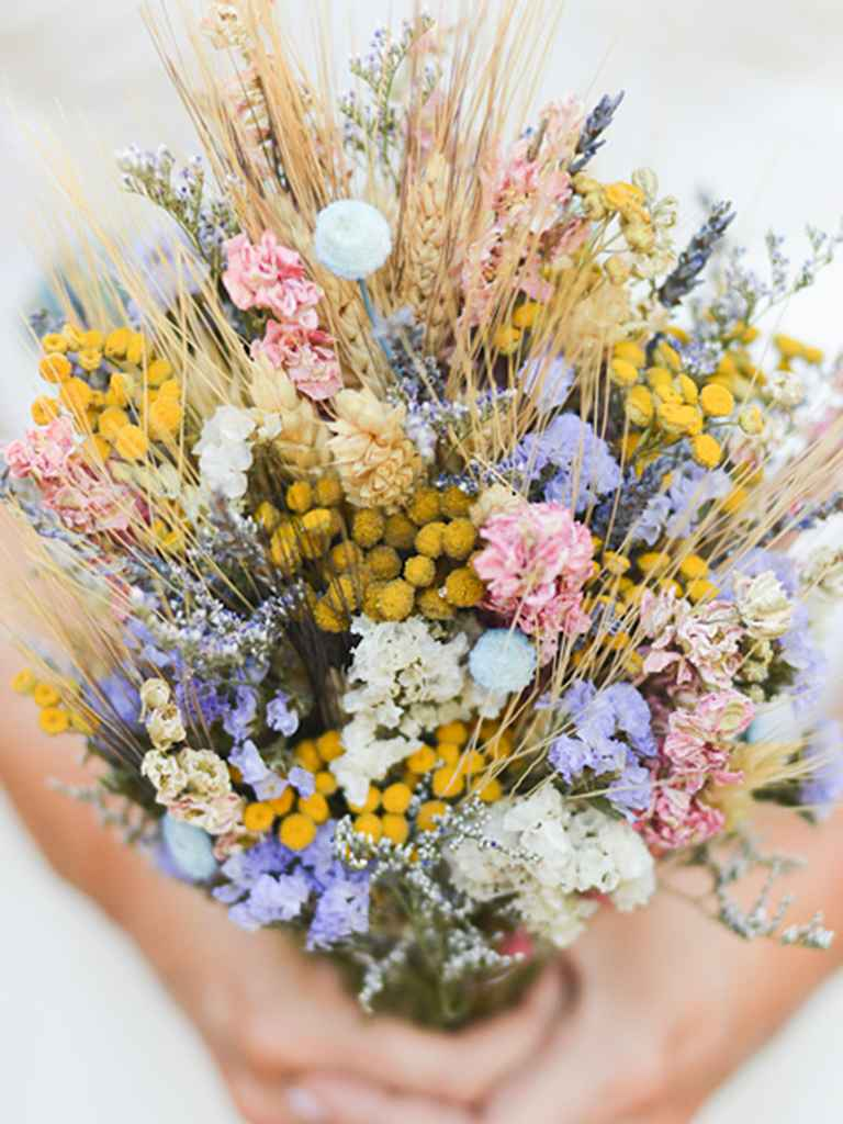 wild flower wedding bouquets photo - 1