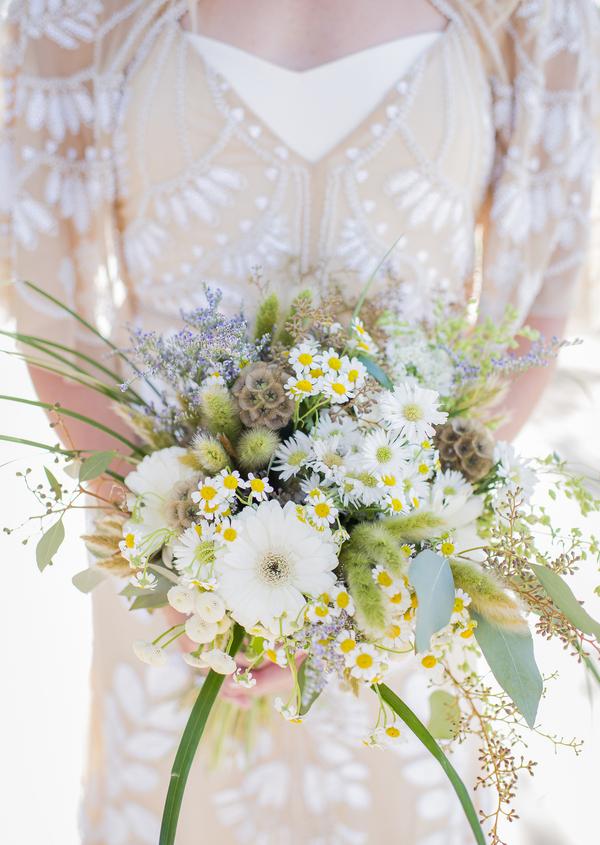 wildflower bouquets wedding photo - 1