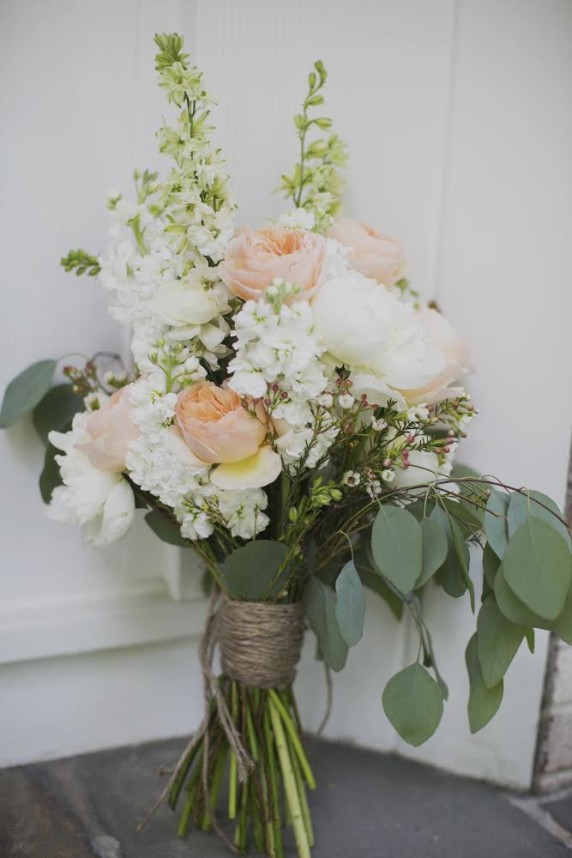 wildflower wedding bouquet photo - 1