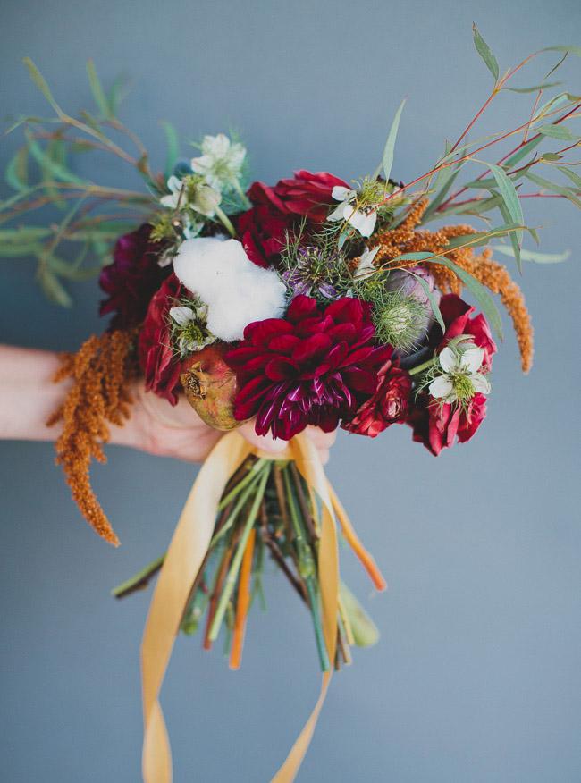 wildflower wedding bouquets photo - 1
